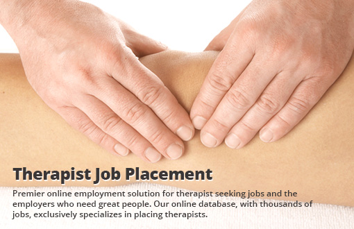 Therapist Job Placement